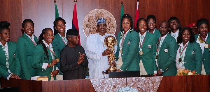 President Buhari Hails D'Tigress For Retaining Afrobasket Title