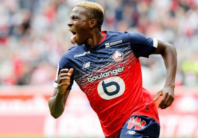 Leicester City Target Osimhen As Vardy's Replacement