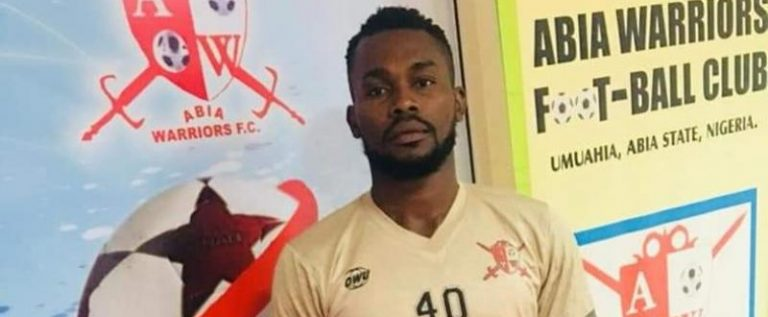 NPFL Side, Abia Warriors Declare Goalkeeper Enaholo Missing