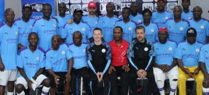 Manchester City Hold Clinic For Nigeria Coaches