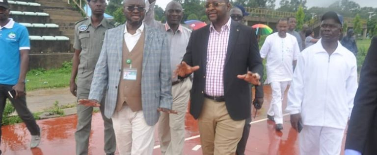 Sports Minister Arrives Lagos For NWFL Super 4 Final