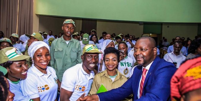 NYSC Donates 10, 000 Face Masks To Sports Ministry