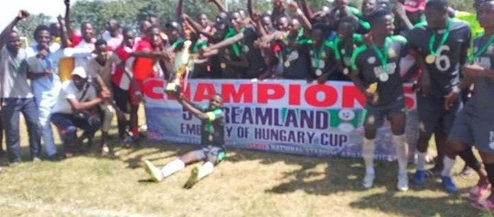 Coaches, Players, Commend 7th Dreamland/Embassy Of Hungary Cup organisers  …As Galadima Emerge Champions