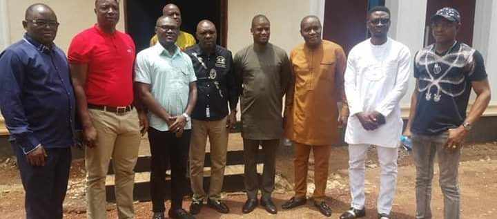 Enugu State House Of Assembly Committee On Sports Visits Rangers.