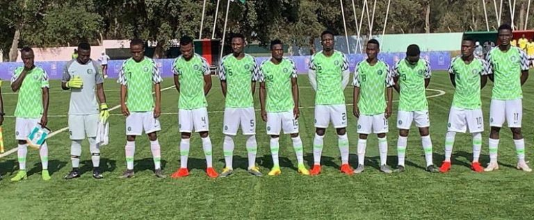 Flying Eagles Lose To Burkina Faso, Settle For Silver Medal At Africa Games