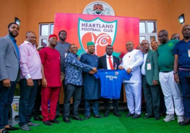 Heartland Fans Optimistic As Club Unveils Fidelis Ilechukwu