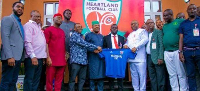 Heartland Fans Optimistic As Club Unveils Fidelis Ilechukwu