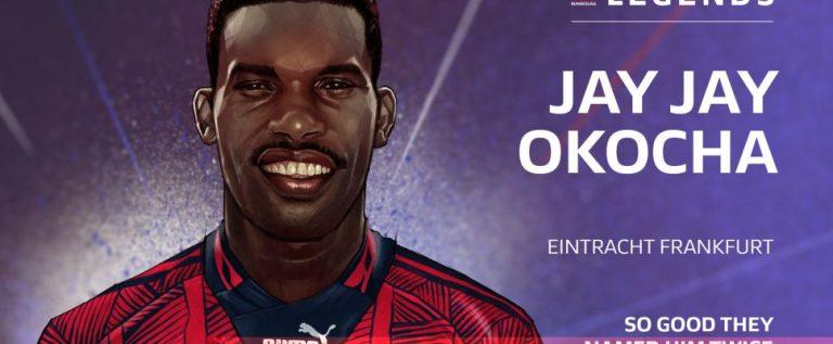 Jay-Jay Okocha Inducted Into The German Bundesliga Hall Of Fame