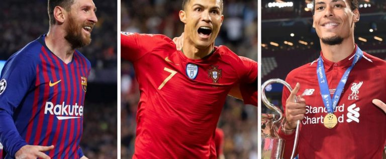 Messi, Ronaldo, Van Dijk Battle For UEFA Men's Player Of The Year