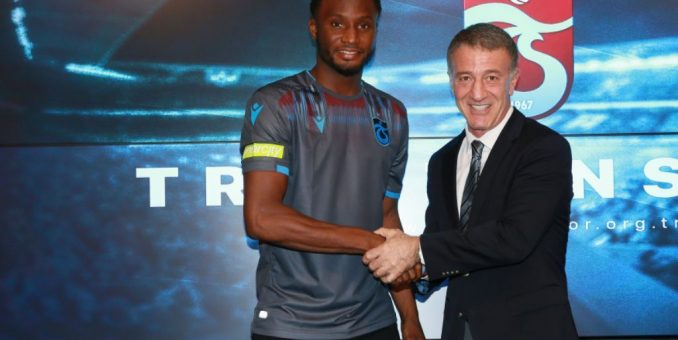 Trabzonspor President Agaoglu Banks On Mikel's Experience To Improve Club