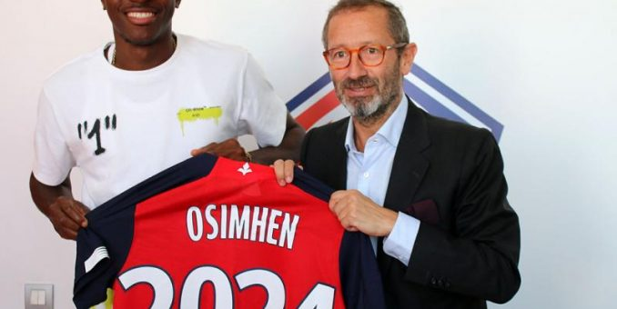 REVEALED: How Lille Monitored  Osimhen Before Signing Him In August