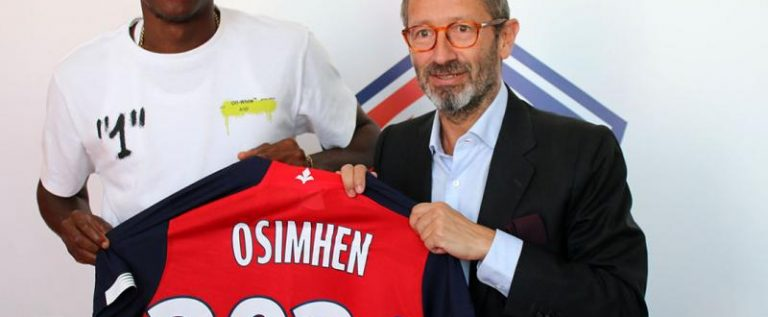 Victor Osimhen Named 3rd Best  Signing In Europe
