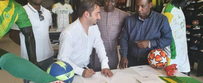 Plateau United Sign Kit Deal With Kayspor