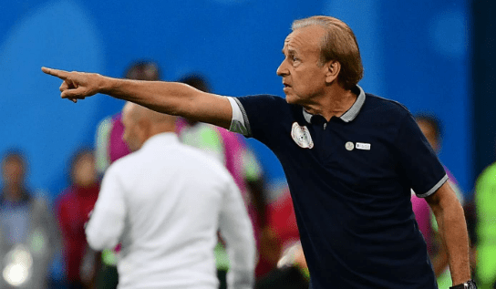 AFCON Qualifiers: Rohr Takes Positives From Eagles Win, Shifts Attention To Lesotho