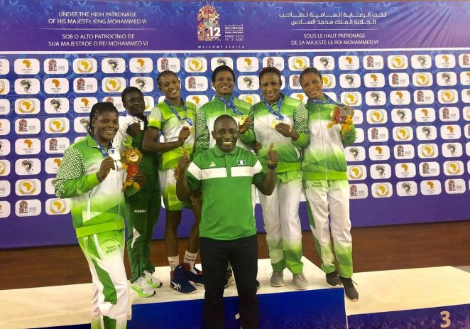 African Games: Female Wrestlers Deliver 5 Gold, One Silver