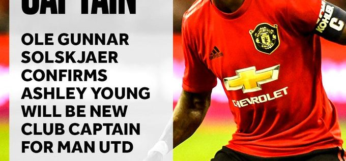 Solskjaer Confirms Young As Manchester United Captain For New Season