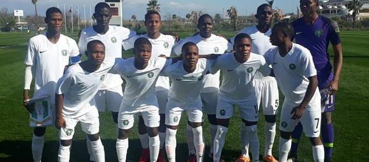 Golden Eaglets thrash Guatemala 5-1 in UEFA/CAF Tourney
