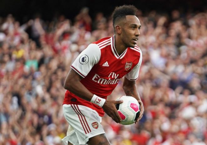 Aubameyang Wins Two Arsenal Awards For The Month Of August