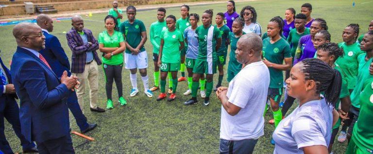 Tokyo 2020 Qualifier: Super Falcons Depart Abuja Tuesday for Abidjan