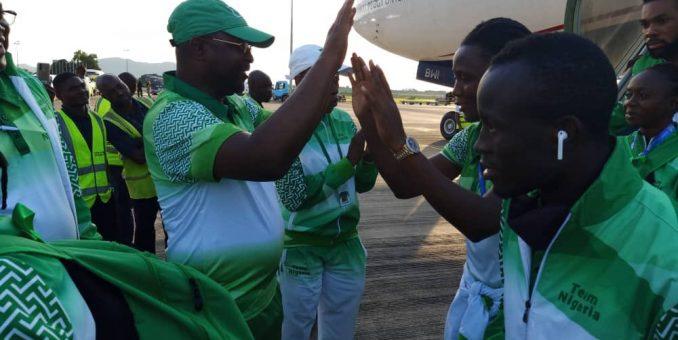 Africa Games: You Made Nigeria Proud – Minister Tells Team Nigeria