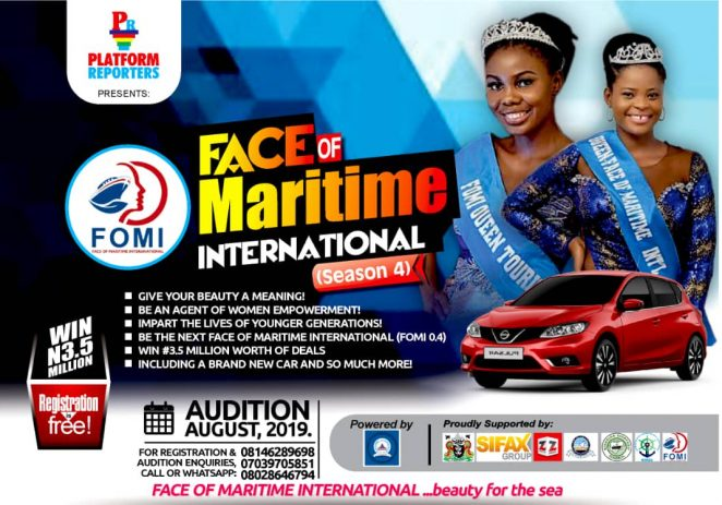 Over 100 Contestants Set For FOMI 2019 Beauty Pageant Audition Today