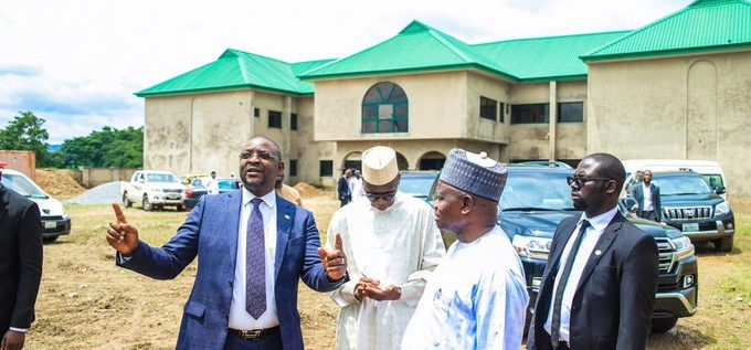 Minister Inspects Africa Olympic Committee Secretariat In Abuja
