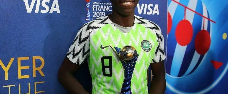 Oshoala Accuses CAF, Federations For Not Paying Attention On Women Football