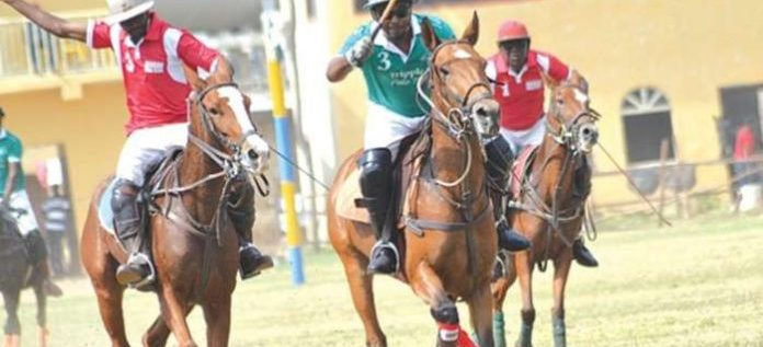 Kano Bubbles For International Polo Festival