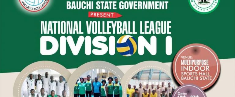 Bauchi To Host 2nd Leg Division One Volleyball League In October