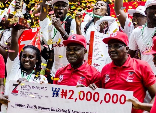 Air Warriors Crowned 2019 Women Basketball League Champions