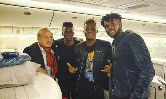 Ndidi, Iwobi, Troost-Ekong Arrive Singapore for Brazil Clash