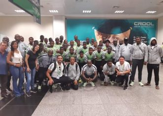 FIFA Officially Welcomes Golden Eaglets To Brazil For U-17 World Cup