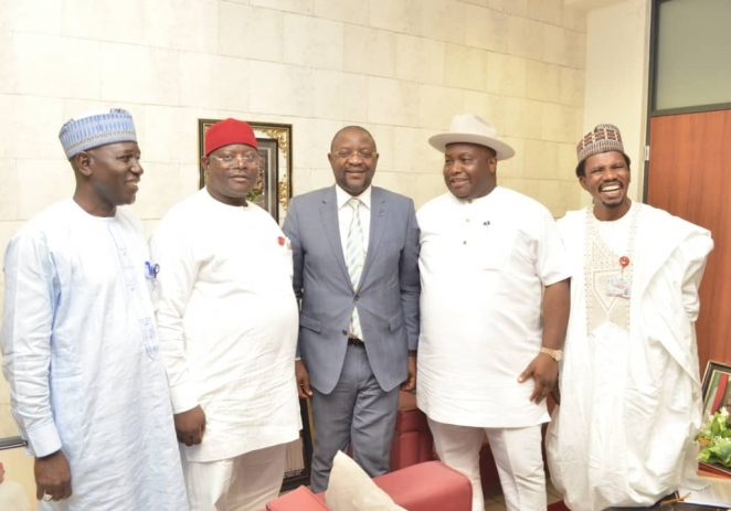 JUST IN: Senate Committee On Sports Visits Minister