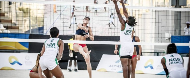 Nigeria Begins Quest For Tokyo 2020 Olympics Qualification In Beach Volleyball
