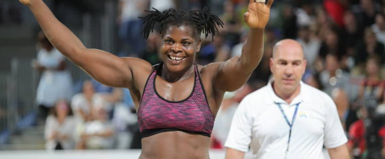 Onyebuchi Wins Gold, Genesis Settles For Silver At World Beach Wrestling Games