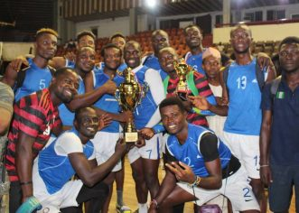 Sunshine Spikers, Super Force Champions Of Division One Volleyball   League