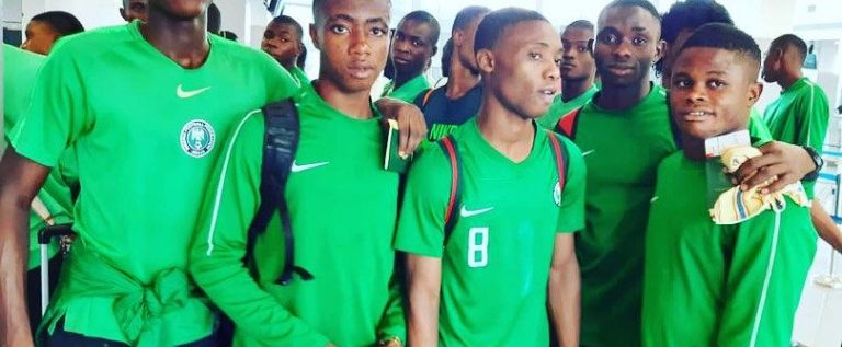 Golden Eaglets Arrive Brazil For FIFA U-17  World Cup