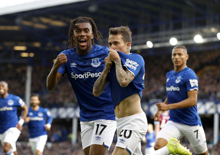Iwobi Delighted After Getting A Goal, Assist In Everton Carabao Cup Win