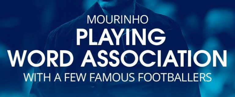 José Mourinho Gives Drogba, Ronaldo, Messi, Others one Word name.