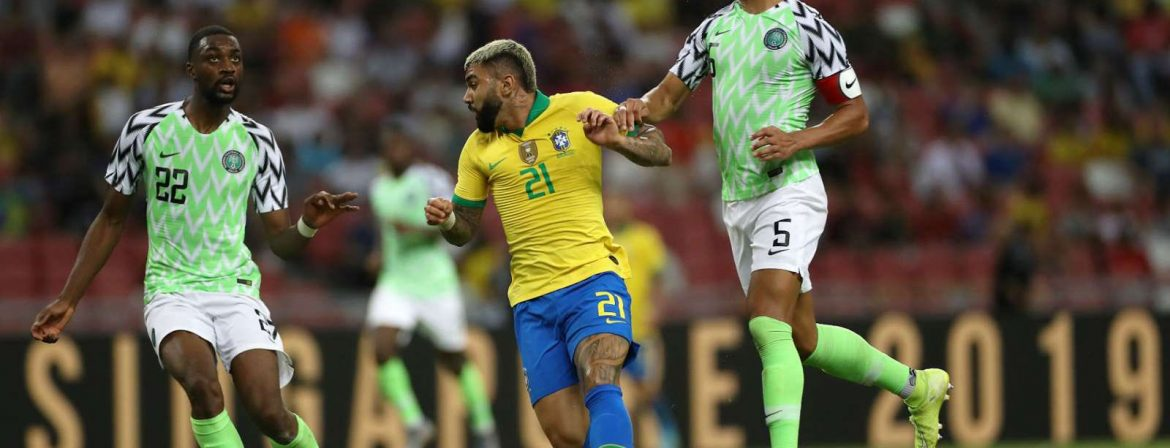 Super Eagles Players' Reactions After Brazil Draw.