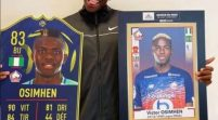 Victor Osimhen Receives Ligue 1 Player Of The Month Award