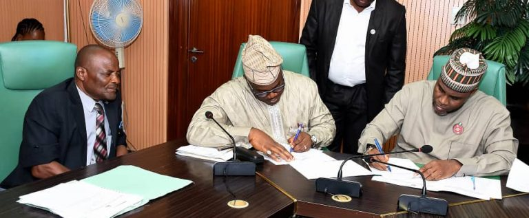 AU Sports Council Region 2 Signs Headquarter Agreement With Nigeria Government