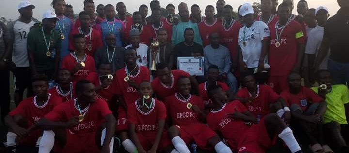 EFCC Emerge Champions Of FCT Football Coaches Preseason Tournament