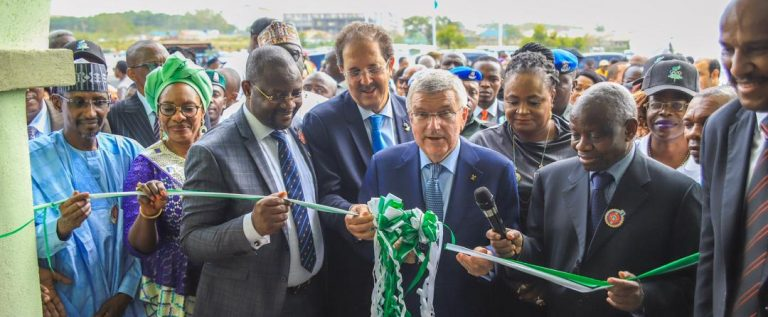 IOC President Commissions Association Of National Olympic Committees Of Africa Secretariat In Abuja
