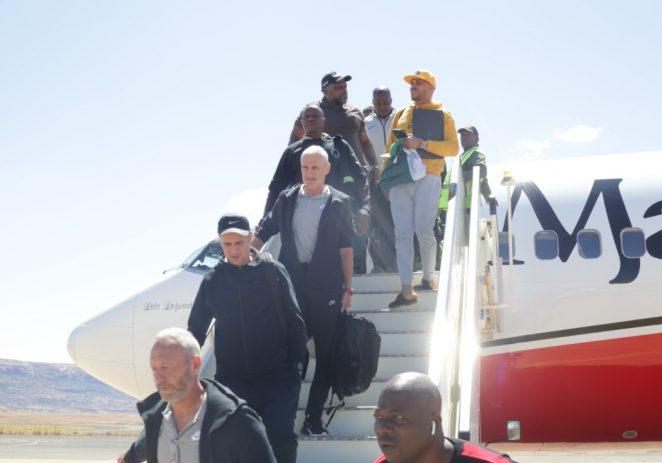 Super Eagles Arrive Maseru For AFCON Qualifier Against Lesotho
