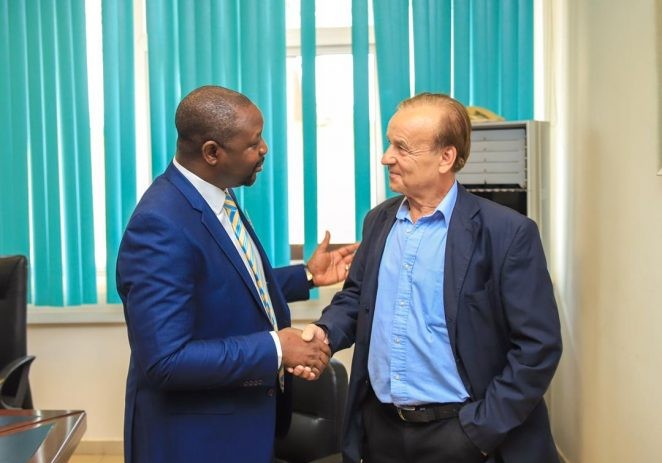 Sports Minister Orders Rohr To Live In Nigeria, Inject Home-based Players Into Eagles