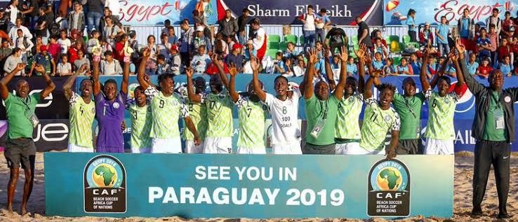 Supersand Eagles Depart Friday For FIFA Beach Soccer World Cup