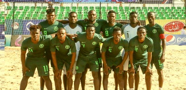 Super Sand Eagles Crash Out Of FIFA Beach Soccer World Cup