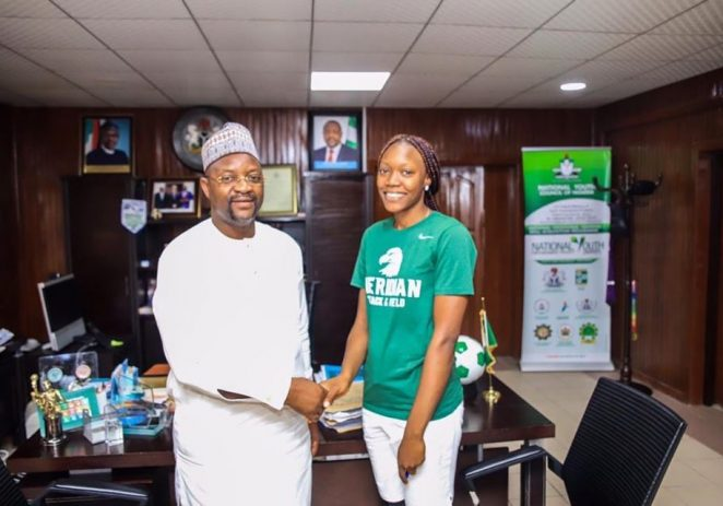 Ministry Of Sports Pays Medical Bills Of Injured D'Tigress Star