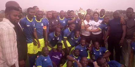 AMAC Coaches Emerge Champions of Alaba Yahaya Unity Cup